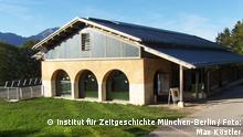 Auf dem Bild: Dokumentation Obersalzberg Quelle: http://www.obersalzberg.de/pressefotos.html Rechte: © Institut für Zeitgeschichte München-Berlin / Foto: Max Köstler, Berchtesgaden