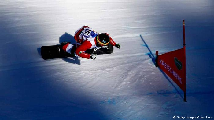 Snowboard-Weltmeister Luca Matteotti in Aktion. Foto: Getty Images