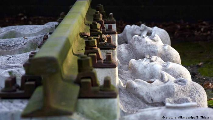 Памятник жертвам нацизма в городе Шверте