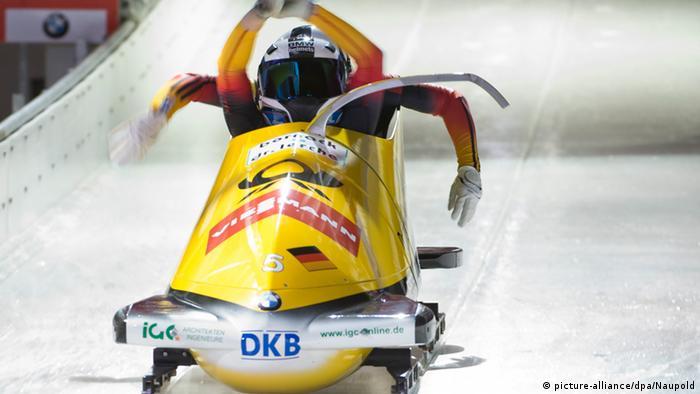 Zweierbob-Weltcup Königssee - Frauen Martini und Buckwitz