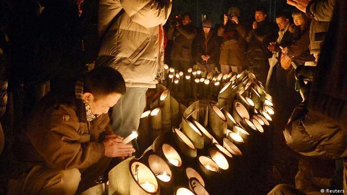Gedenken In Kobe An Erdbeben Vor 20 Jahren Aktuell Asien Dw