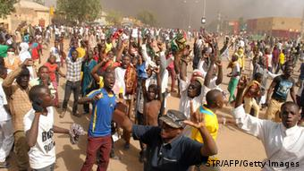 Anti-Charlie-Hebdo-Protest in Niger, 16. 01.2015 (Foto: AFP / Getty Images)