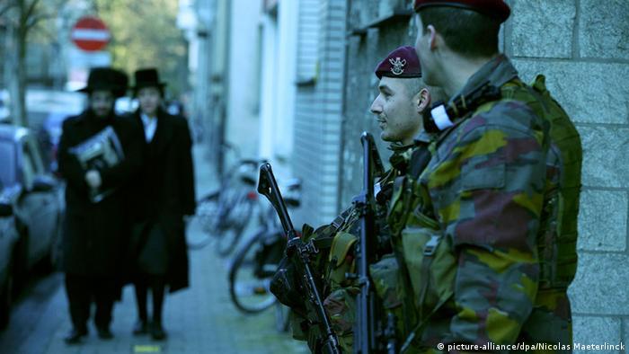 Belgien Antwerpen Sicherheit Terrorismus