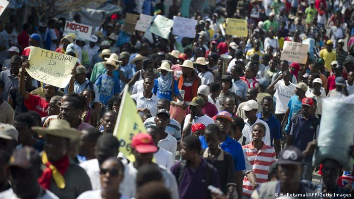 Photo Reporting: UN Security Council delegation in Haiti to push for elections