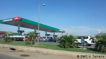Angola Pumangol Tankstelle in Luanda