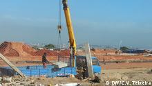 Angola Luanda Baustelle Sambizanga