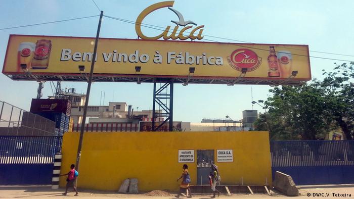 Angola Luanda Cuca (Cerveja Cuca) Bierfabrik