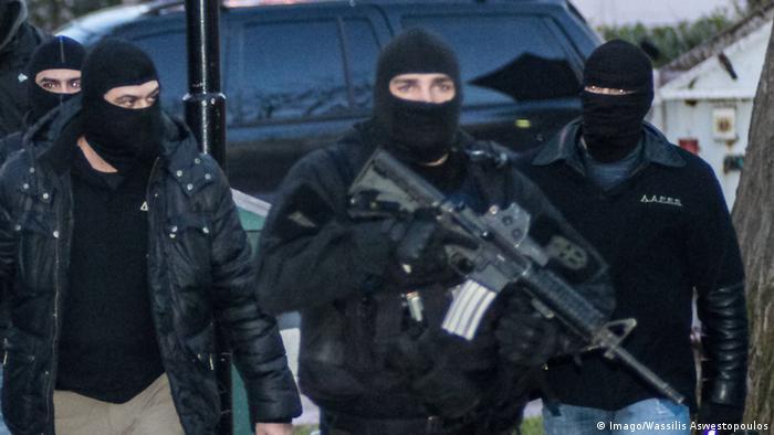 Griechenland Athen Anti Terror Einsatz ARCHIV
