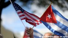 Symbolbild Beziehungen USA Kuba