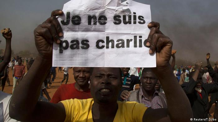 Anti-Charlie-Hebdo-Protest in Niger, 17. 01.2015 (Foto: AFP / Getty Images)