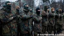 Kämpfe Ostukraine Donezk 17.01.2015