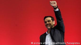 Greichenland Alexis Tsipras Parteivorsitzender SYRIZA