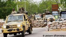 Nigeria Maiduguri Militär Sicherheit Anti Boko Haram 2014