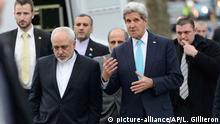 Genf Iran Außenminister Zarif Kerry 14.01.2015