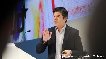 Uber-Chef Travis Kalanick (picture-alliance/dpa/T. Hase)