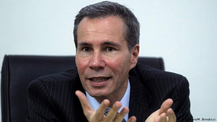 El fiscal argentino Alberto Nisman, hallado muerto el 18.01.2015.