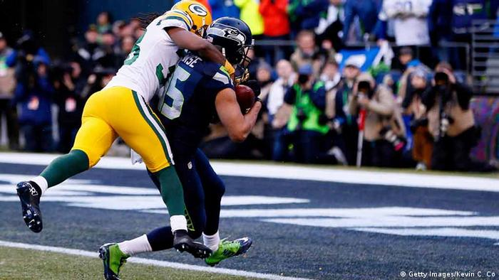 Green Bay Packers vs Seattle Seahawks (Foto: Kevin C. Cox/Getty Images)