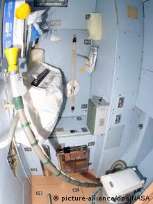 Space Toilet ISS