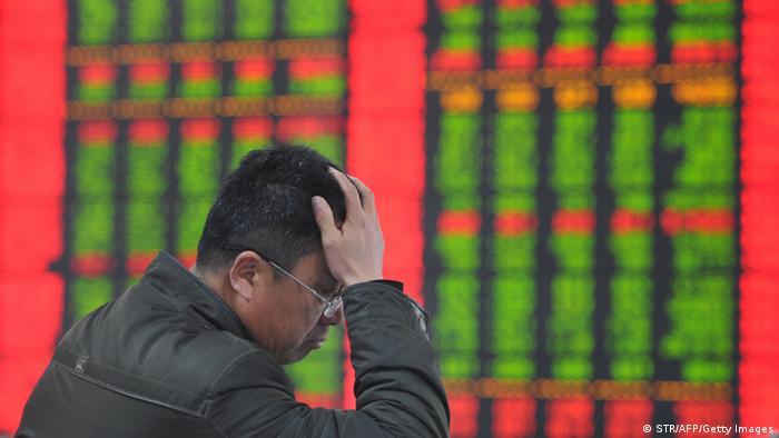 China Aktienmärkte Absturz