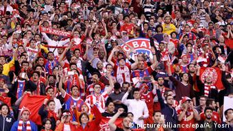Fans Al Hilal vs. Bayern München 17.01.2015