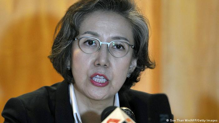 UN rights enoy Yanghee Lee