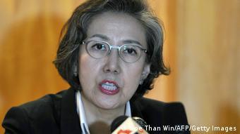 Myanmar UN Beobachter Yanghee Lee