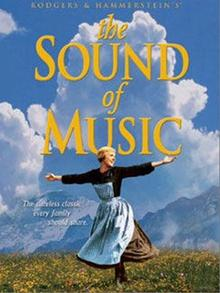 The Sound of Music, Film mit Julie Andrews, 1965