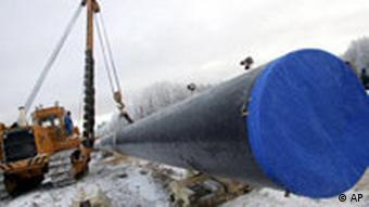 Pipeline Russland Deutschland Ostsee wird verlegt