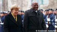 Staatsbesuch Ghanas Präsident Mahama in Berlin