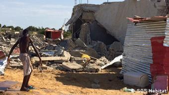Angola Zerstörungen in Viana Luanda