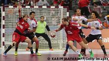 2015 WM Handball in Qatar Ägypten nationalmannschaft
