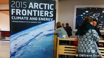 Norwegen Tromso Arctic Frontiers 20.01.2015