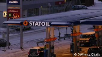 Norwegen Tromso Öl Industrie Tankstelle
