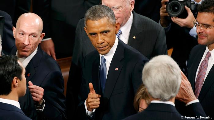 Barack Obama im US-Kongress (Foto: rtr)