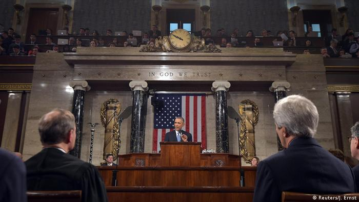 Barack Obama Rede zur Lage der Nation 2015