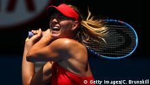 Australien Russland Tennis Australian Open 2015 Maria Sharapowa