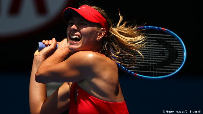 Australien Russland Tennis Australian Open 2015 Maria Sharapowa (Getty Images/C. Brunskill)