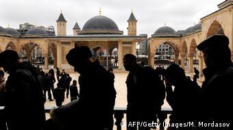 Tschetschenien Muslime Moschee Archiv 2011