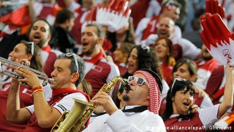 قطر تهزم بولندا وتصعد لنهائي بطولة العالم لكرة اليد   عالم الرياضة   DW.DE   30.01.2015