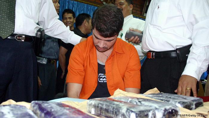 Indonesien Basilien Drogen Rodrigo Gularte in Tangerang