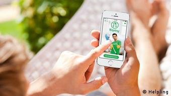 Aplikacije Helplinga za mobilne telefone