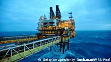 North Sea oil platform (Getty Images/Andy Buchanan/WPA Pool)
