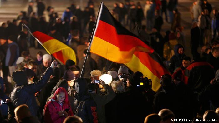 Legida Demonstration in Leipzig 21.01.2015