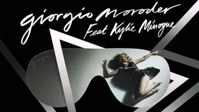 Cover Giorgio Moroder & Kylie Minogue: Single 'Right Here, Right Now'