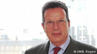 Georgios Kyrtsos Nea Demokratia EU Abgeordneter (DW/B. Riegert)