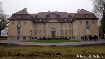 Вилла Борзиг в Берлине, где проходит встреча нормандской четверки