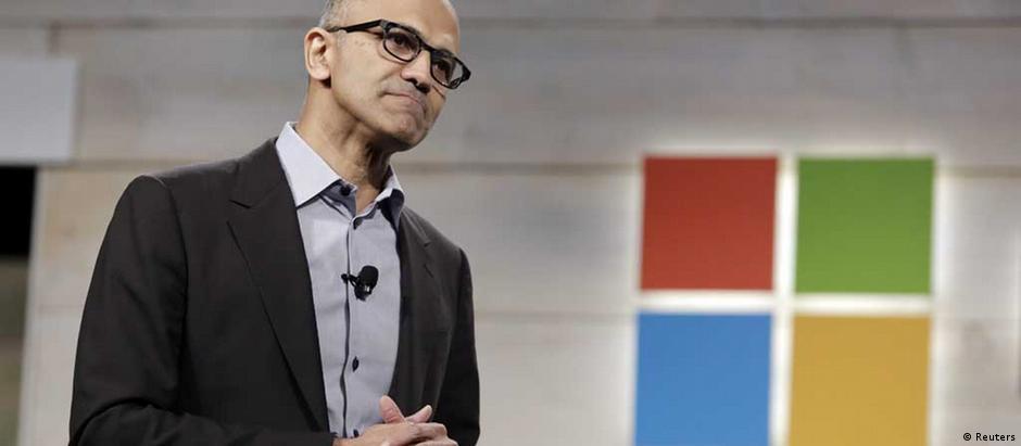 Satya Nadella, chefe da Microsoft, apresentou nova versão do Windows