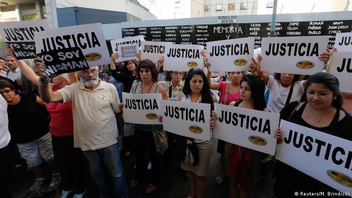Alberto Nisman protests