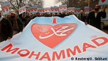 Anti-Charlie Demo in Kabul 22.01.2015