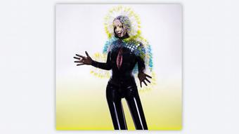 The cover of Björk's new album 'Vulnicura'. Copyright: Wellhart Ltd & One Little Indian.